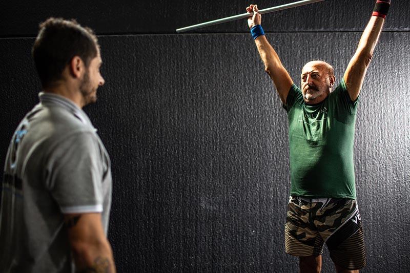 fitness postura corretta uomo